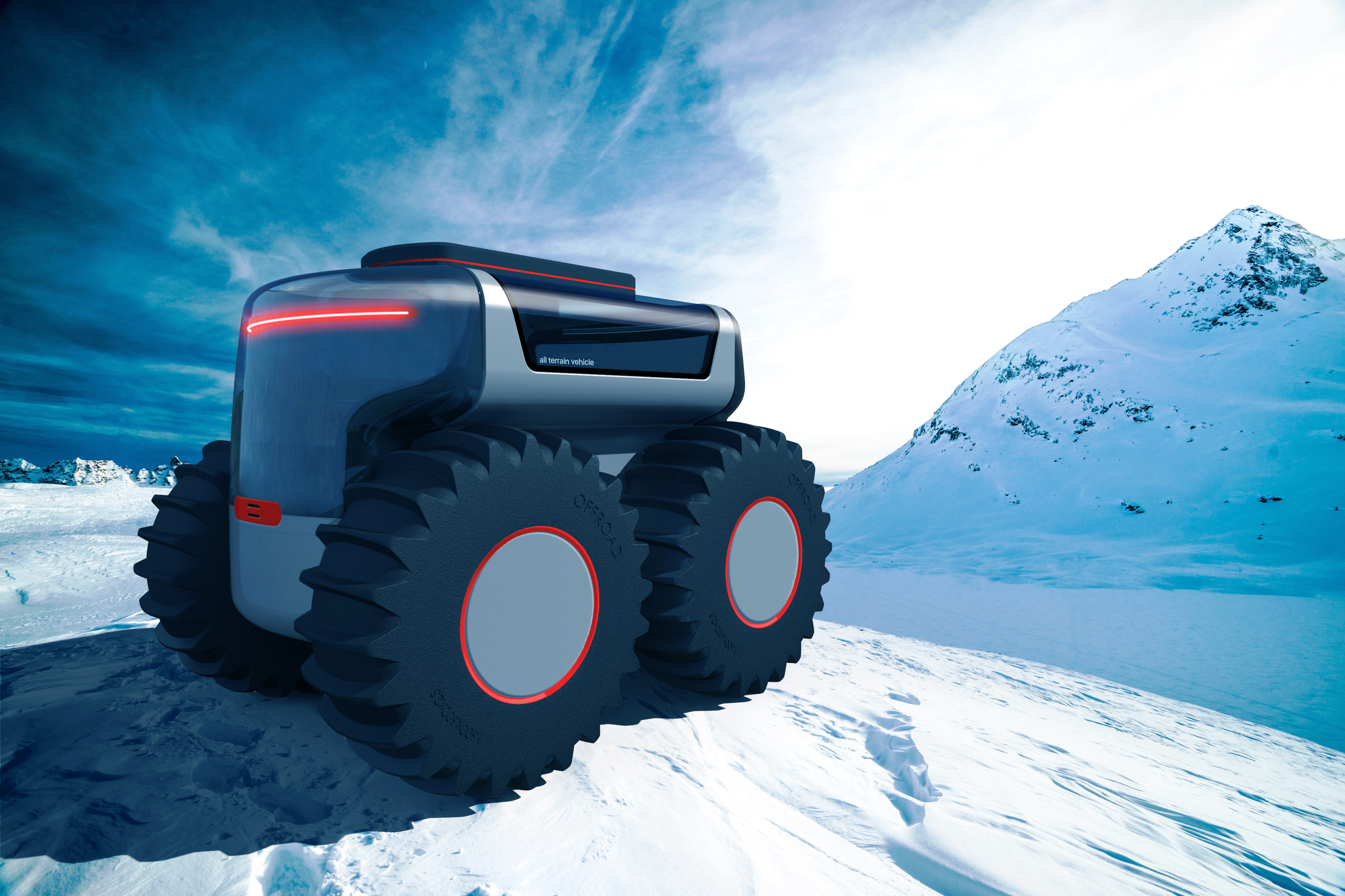 All Terrain Vehicle / Isabelle Martyna