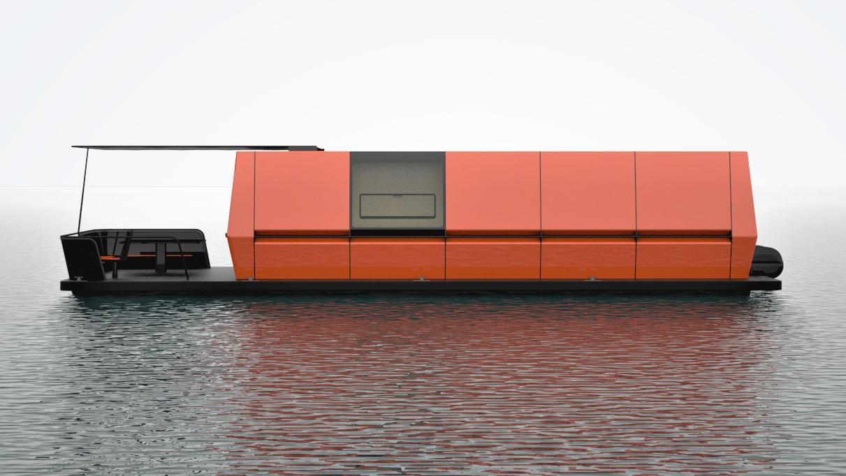 Hausboot / Maurice Weber