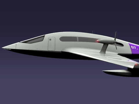 Ekranoplan Wassertaxi // Yankai Chen
