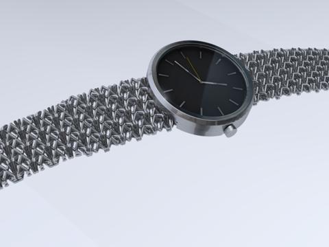 """""""3D-Druck"""" / Uhr / Max Henschke"""