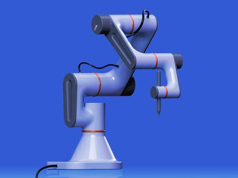 Modularer Roboterarm / Lukas Leppich, Sascha Plasberg & Richard Scheffler