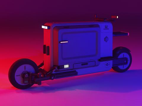 Cargo Scooter / Arne Grabenhorst